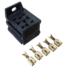 4/5 Pin Relay Block + 5 Pins