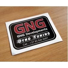 GNG Bumper Sticker
